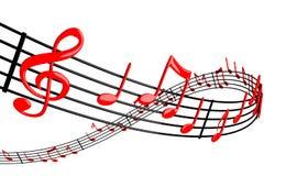 Music design Stock Photo