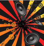 Music design background Royalty Free Stock Photography