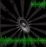 Music design background Royalty Free Stock Photos