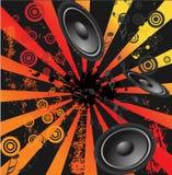Music design background grunge. Music design background,vector illustration Royalty Free Stock Photos