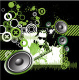 Music design background grunge Stock Photography