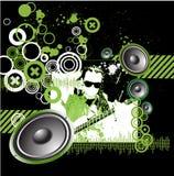 Music design background grunge. Music design background,vector illustration Stock Photography