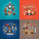 Music Design Concept Set Stock Photo