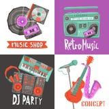 Music Design Concept Stock Photos