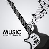 Music design. Music concept design, Vector illustration royalty free illustration