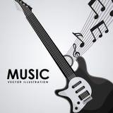 Music design. Music concept design, Vector illustration Royalty Free Stock Image