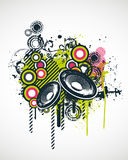 Music Design Elements. Vector Illustration Stock Image