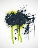 Music Design Elements. Vector Illustration Royalty Free Stock Image