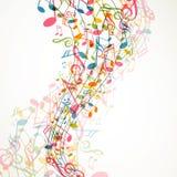 Music Design stock illustration