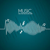 Music design Royalty Free Stock Photography