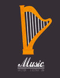 Music design Stock Photos