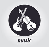 Music design Royalty Free Stock Photos