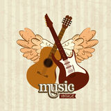 Music design Stock Photography