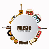 Music design Stock Images