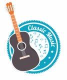 Music design over white background vector illustration Stock Images