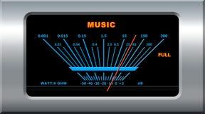 Music device. Pointing full level vector illustration