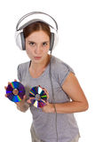 Music devil Royalty Free Stock Photo