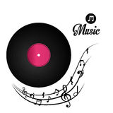 Music digital design. Royalty Free Stock Photography