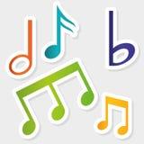 Music digital design. Stock Photo