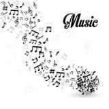 Music digital design. Stock Image