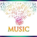 Music digital design. Royalty Free Stock Photos