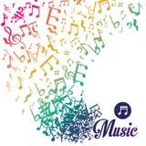Music digital design. Royalty Free Stock Image