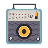 Music digital icon graphic design. Elements Royalty Free Stock Image