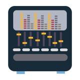 Music digital icon graphic design. Elements Stock Photos