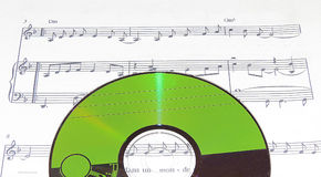 Music disc Royalty Free Stock Images