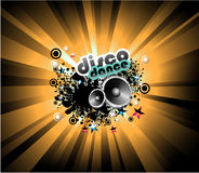 Music Disco Background stock images