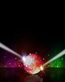 Music Disco Background Royalty Free Stock Photography