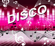 Music Disco Shows Sound Track And Audio Stock Photos