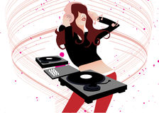 Music DJ Royalty Free Stock Photo