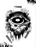 Music dj vector Royalty Free Stock Photo