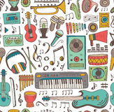 Music doodle collection Stock Photography