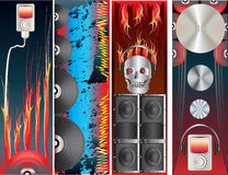 Music Download Banners Royalty Free Stock Photo