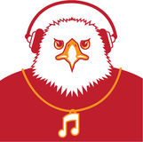 Music Eagle Royalty Free Stock Photo