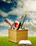 Music eduction concept Royalty Free Stock Images