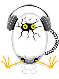 Music egg Stock Photo