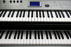 Music electric piano Stock Photo