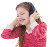 Music, electronics, child and youth Stock Image