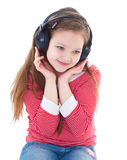 Music, electronics, child and youth Stock Photography