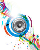 Music elements Royalty Free Stock Photos