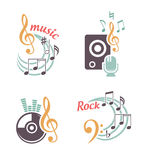 Music  elements Royalty Free Stock Photo