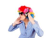 Music enjoy Stock Photo