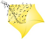 Music from envelope stock images