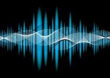 Music equaliser wave Stock Photo