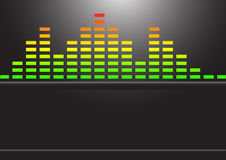 Music Equalizer Royalty Free Stock Image