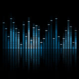 Music Equalizer Royalty Free Stock Photography