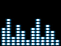 Music equalizer. Abstract background music equalizer vector illustration Royalty Free Stock Image
